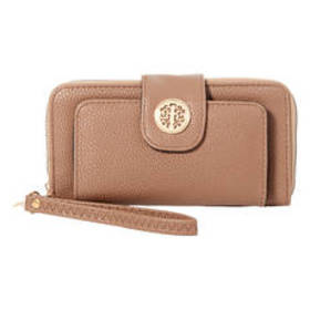 Womens Sasha Zip Around Wristlet