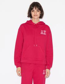 Armani HOODIE WITH LETTERING