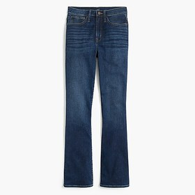 J. Crew Factory Bootcut jean in baltic blue wash