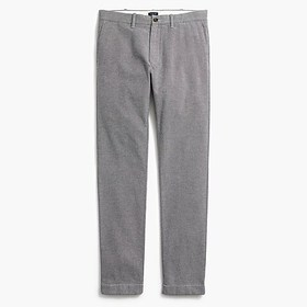 J. Crew Factory Straight-fit pant in brushed twill