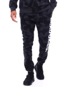 Ecko camo jogger with logo insert