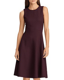 Ralph Lauren - Ponte Fit-and-Flare Dress