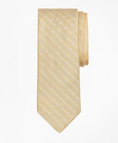 Brooks Brothers Linen and Silk Floral Tie