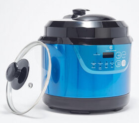 """""""As Is"""" Cook's Essential's 3-qt Presure Cooker wit"""