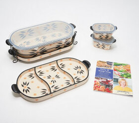 """""""As Is"""" Temp-tations Old World 6-Pc Baker Set with"""
