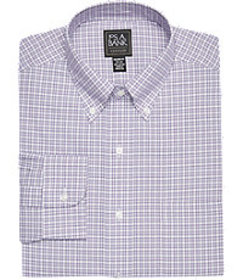 Jos Bank Traveler Collection Tailored Fit Button-D