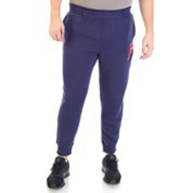 Mens Fleece Active Pants With Chenille Logo