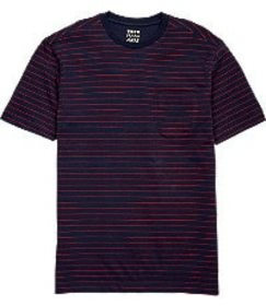Jos Bank 1905 Collection Tailored Fit Stripe T-Shi