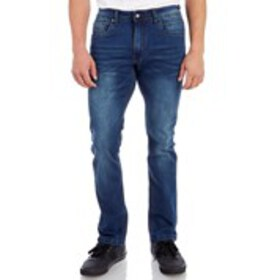 Mens Washed Stretch Skinny Jeans