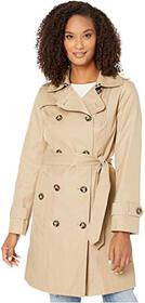 London Fog Ryan Double Breasted Trench Coat with R