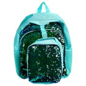 ACCESSORIES 22 Girls Flip Sequin Backpack and Lunc