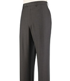 Jos Bank Traveler Collection Tailored Fit Flat Fro