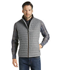 Jos Bank Reserve Collection Tailored Fit Quilted V