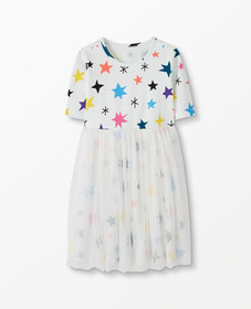 Hanna Andersson Make Believe Dress In Soft Tulle i