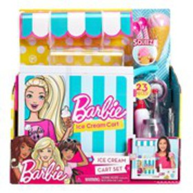 BARBIE Barbie Ice Cream Cart Playset