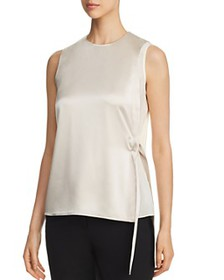 Tory Burch - Satin Wrap Top