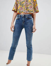 River Island Cropped Flare Jeans