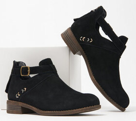 Skechers Buckle Ankle Boots - Sepia - A369540