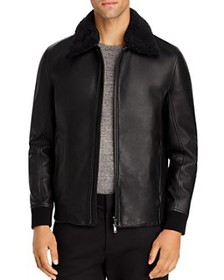 Theory - Tyler NC Kelleher Leather Jacket - 100% E