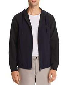 Theory - Abels Color-Block Zip-Front Jacket