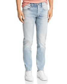 G-STAR RAW - 3301 Slim Fit Jeans in Faded Mineral