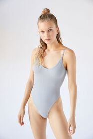 Out From Under Johanna Seamless Backless Bodysuit