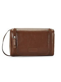 Perry Ellis Hanging Toiletry Bag TAN