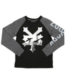 Zoo York raglan graphic tee (8-20)
