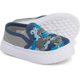 CHOOZE Camo Twin Sneakers (For Toddler Boys) in Bl