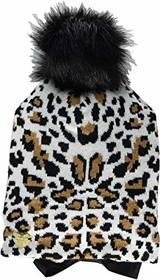 Betsey Johnson Claws Out Beanie with Tie Closure