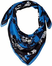 Calvin Klein Spliced Floral Square Scarf