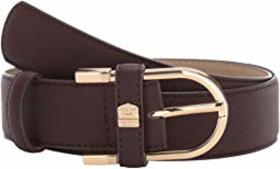 Vince Camuto Open Bell Buckle with Feathered Edge