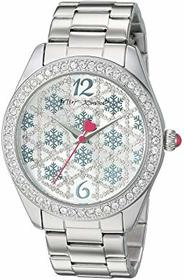 Betsey Johnson BJ00048-289 - Snowflake Motif Watch