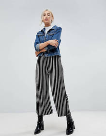 ASOS Knitted Culottes in Stripe