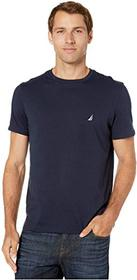 Nautica Short Sleeve Solid Crew Neck T-Shirt