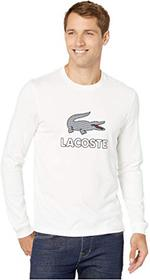 """Lacoste Long Sleeve Graphic """"Tattersall"""" Croc"""