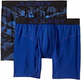 Jockey Athletic Rapidcool Midway Brief 2-Pack