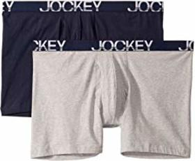 Jockey Active Stretch™ Big Man Midway® Brief 2-Pac