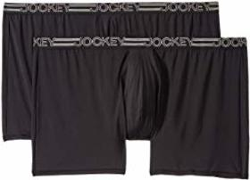 Jockey Active Micro Big Man Midway® Boxer Brief 2-