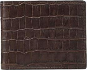 Fossil Darcy Leather Bifold Flip ID Wallet