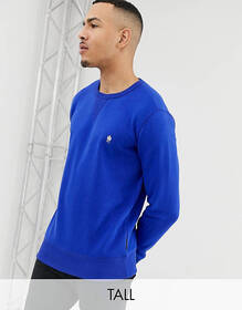 French Connection Tall crew neck logo sweat