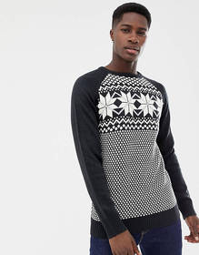Another Influence Fairisle Knit Sweater