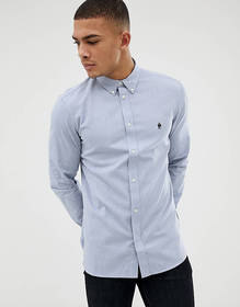 French Connection Essentials oxford shirt with lon