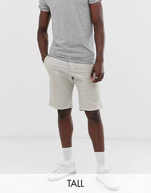 French Connection Tall slim fit peached cotton chi