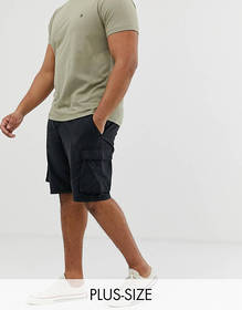 French Connection Plus millitary cargo shorts