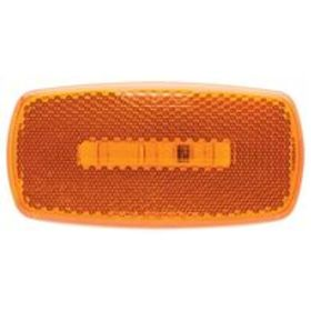 Oval LED Clearance/Marker Light; Replaceable Lens