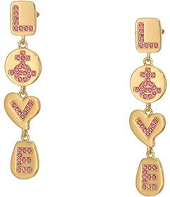 Vivienne Westwood Love Medal Earrings
