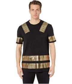 Versace Collection Gold Printed T-Shirt