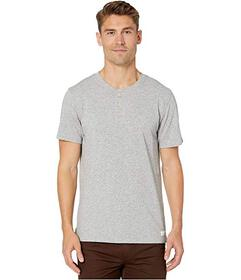 7 For All Mankind Boxer Three-Button Henley