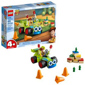 LEGO 4+ Toy Story 4 Woody & RC 10766